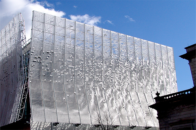Kineticwall Dynamic Facade From Extech Exterior