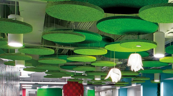 Tectum Wood Fiber Ceilings From Armstrong Ceiling