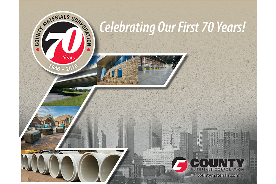 County Materials Corporation - Celebrating Our First 70 Years!