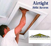 EZ Hatch Attic Access Door - R-42!