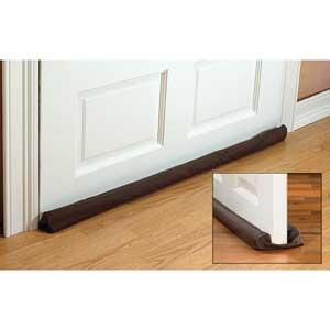 Twin Door Draft Guards From Battic Door Energy