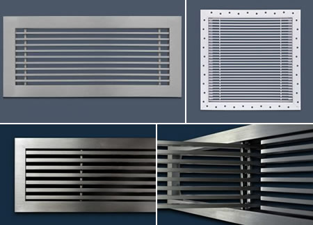 In Stock Linear Bar Grilles From Advanced Architectural