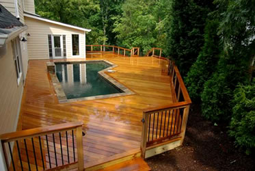AECinfo.com News: Three Economical Tips for DIY Exotic Hardwood Deck ...