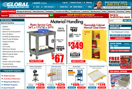 News material handling - Global equipment company port washington ny ...