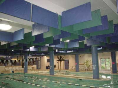 Hanging Baffles And Banners From Acoustical Solutions Inc