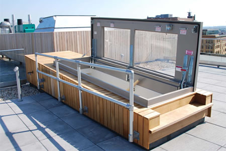 Roof Hatches From Nystrom Building Products On Aecinfo Com