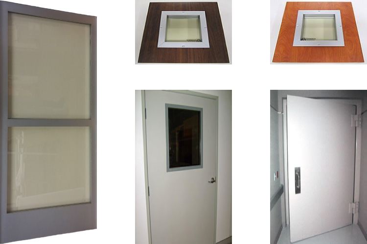 Radiation Shielded Lead Doors
