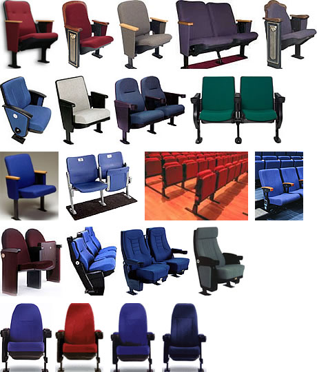 Theater Seating From Preferred Seating On Aecinfo Com
