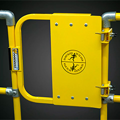 GuardDog – Self-Closing Industrial Safety Gate