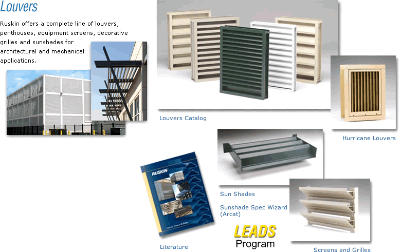 Louvers From Ruskin On Aecinfo Com