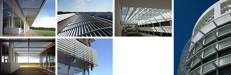 Louvers From Unicel Architectural Corp On Aecinfo Com