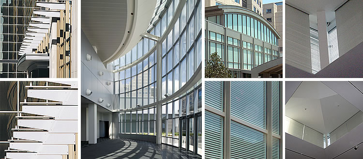 Curtain Walls From Unicel Architectural Corp On Aecinfo Com