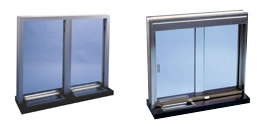 Bullet resistant sliding windows