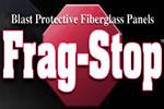 Blast protection Frag-Stop composite panels