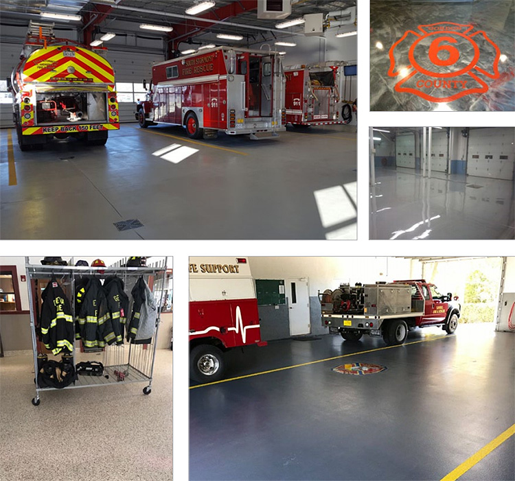 Hermetic™ Fire Apparatus Floors