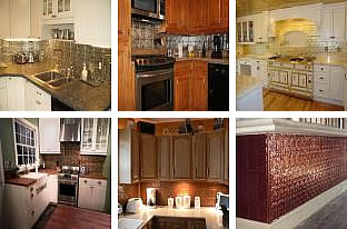 backsplash tin panels - American Tin Ceilings