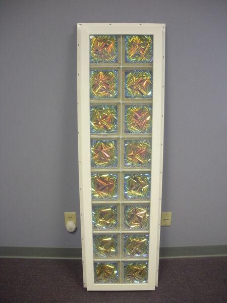 Vinyl Framed Glass Block Windows From Innovate Building