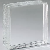 Fire rated glass blocks