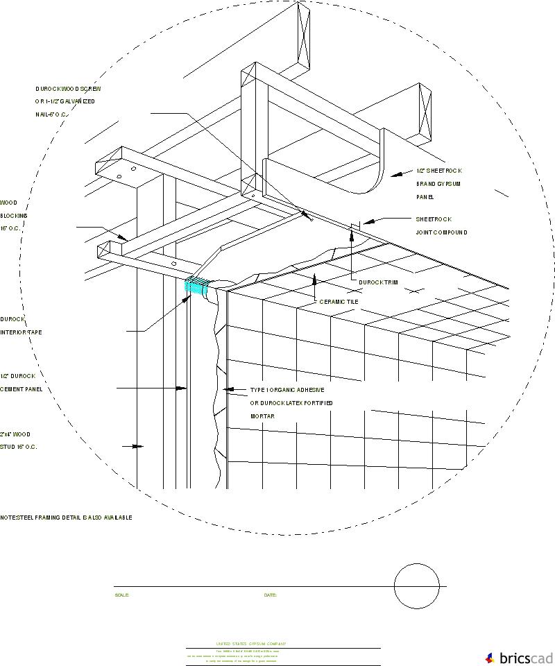 Dur903 Interior Soffit Aia Cad Details Zipped Into