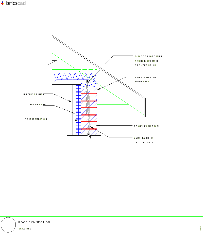 Roof Connection Aia Cad Details Zipped Into Winzip