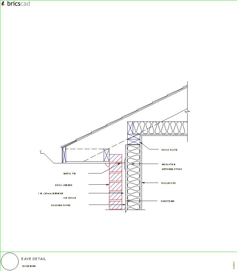 Eave Detail AIA CAD Details zipped into WinZip format files for
