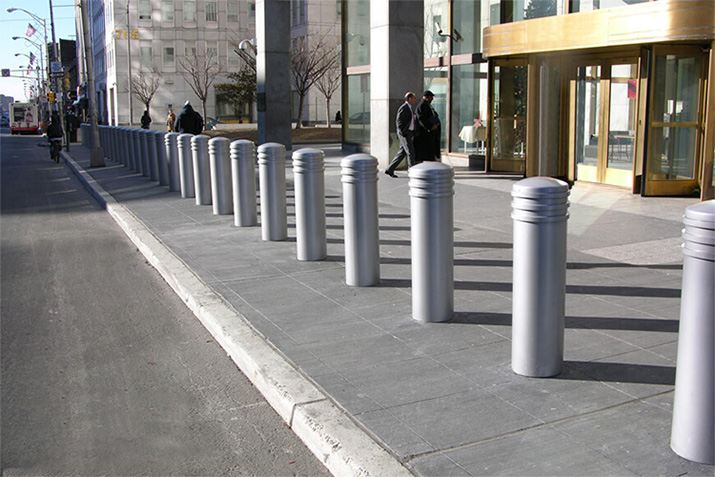 8 Reasons why cities are installing bollards in high traffic areas - it's not just counter-terrorism