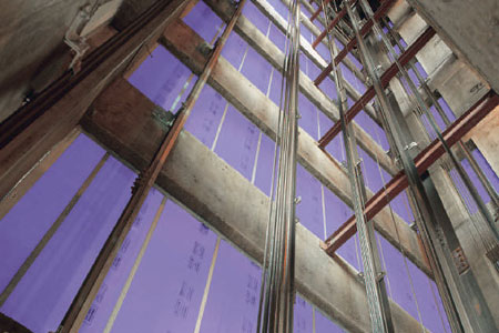 AECinfo com News: A Short History Of High-Rise Cavity Shaftwalls