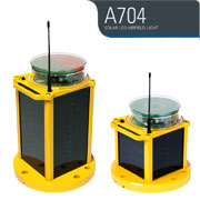 A704 Solar Airfield Light from Carmanah