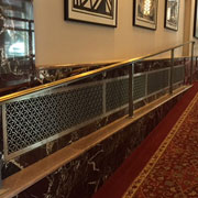 AAG719 Majestic Perforated Grille Panels: Putting the Artistry in Art Deco