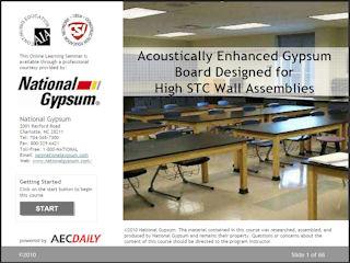 Aecinfo Com News Acoustically Enhanced Gypsum Board