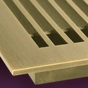 Decorative linear bar grilles for the walls, floors, and ceilings