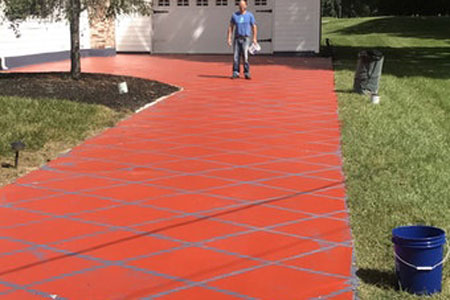 Affordable concrete driveway resurfacing in Dover, DE