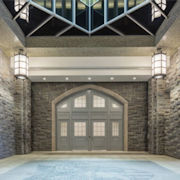 AMBICO's door and frame assembly pairs beauty with strength, honoring military history and keeping cadets safe