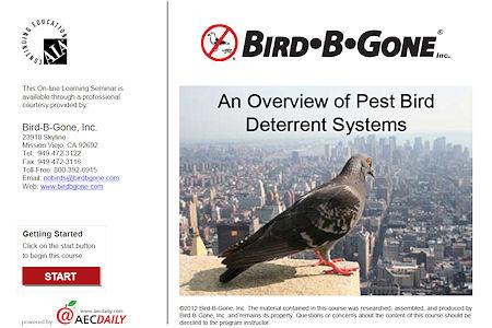 Aecinfo Com News An Overview Of Pest Bird Deterrent Systems