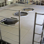 Anti Slip Stainless Platform and Catwalk in Food Processing Facility