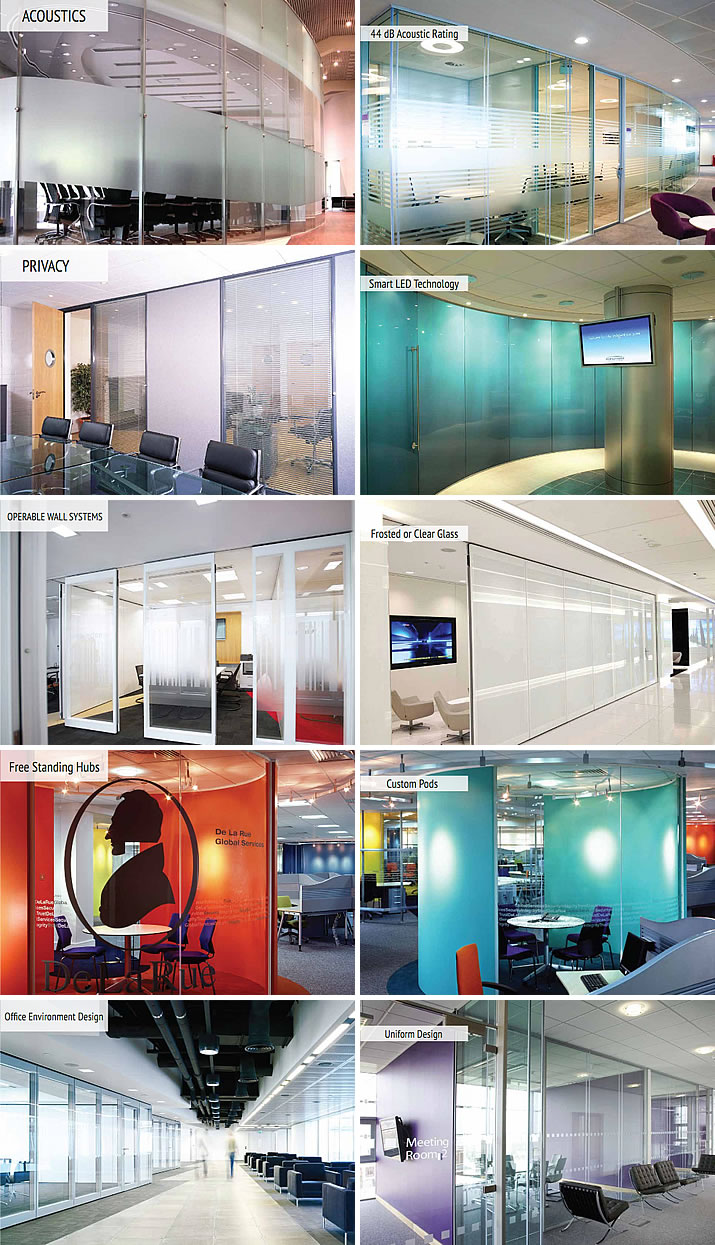 Architects Inspiration Handbook for Glass applications in commercial interiors