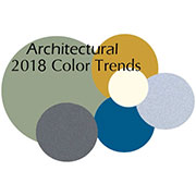 Architectural Color Trends for 2018
