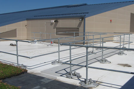 Architectural Series Roof Guardrail System