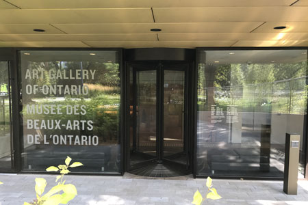 Art Gallery of Ontario Enjoys More Space and Comfort with Boon Edam Revolving Door