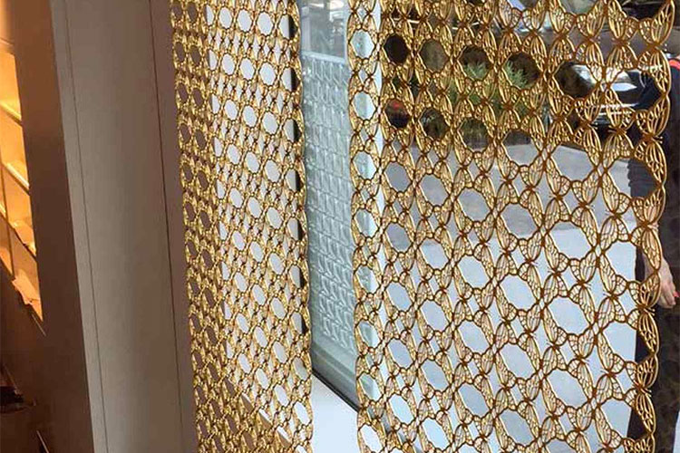 Artistry in Architectural Grilles Custom Laser-Cut Decorative Metal Screen