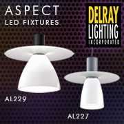 ASPECT Decorative Glass LED Pendant Fixtures