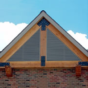 Attractive Ventilation by Architectural Louvers