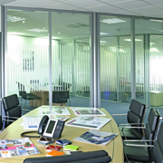 Avanti Systems Transverto Monoblock Pre-Built Interior Glass Walls