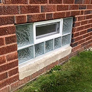 Basement & Bathroom Glass Block Windows from Innovate Building Solutions