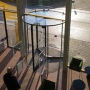 Belgium's Arta'a Arts Center Installs Boon Edam All-Glass Revolving Door for Safety/Design