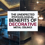 Benefits of Decorative Metal Ceilings
