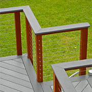 Best places to use cable railing