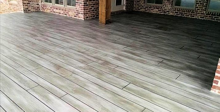 Better than real wood planks