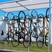 Bicycle Wall-Rack Vertical