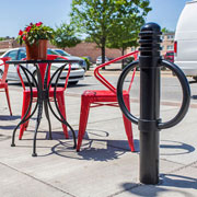 Bike Bollards: Decorative appeal with better parking security